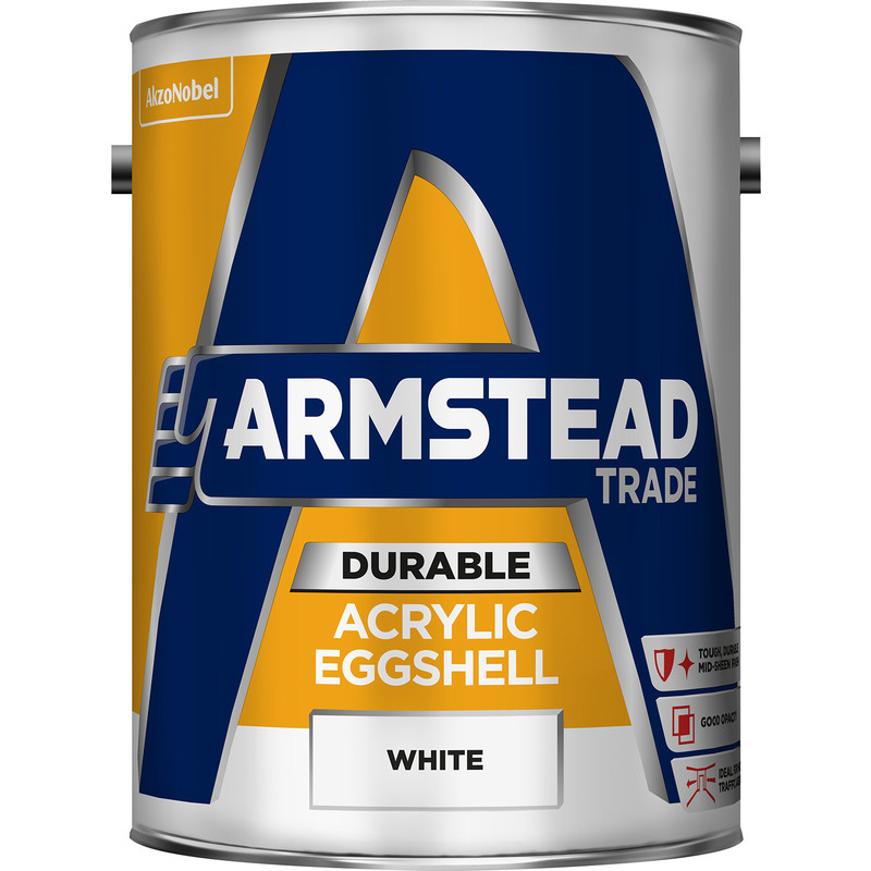 Armstead Trade Durable Acrylic Eggshell White