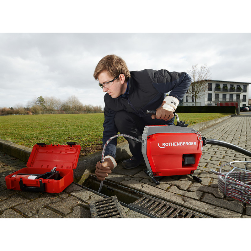 Rothenberger R600 Cordless Drain Cleaner