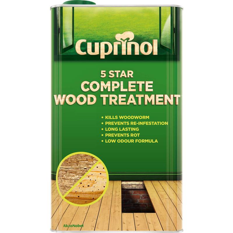 Cuprinol 5 Star Complete Wood Treatment 5L