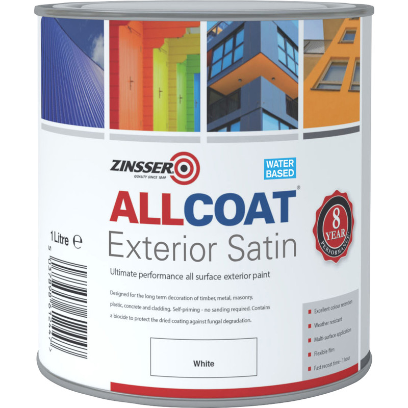 Zinsser Allcoat Exterior Satin Paint