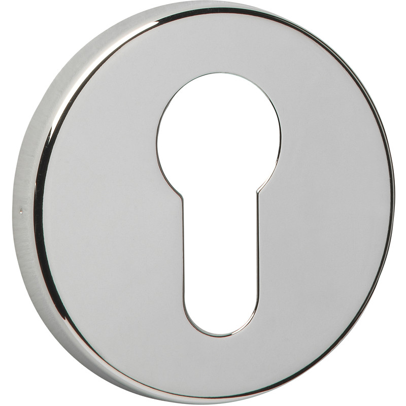 Urfic Easy Click Screwless Round Euro Escutcheon