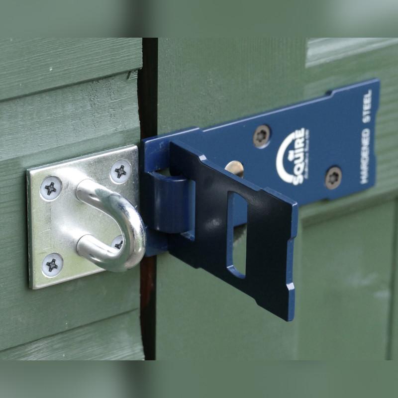 Squire No.8 Hardened Steel Hasp & Staple