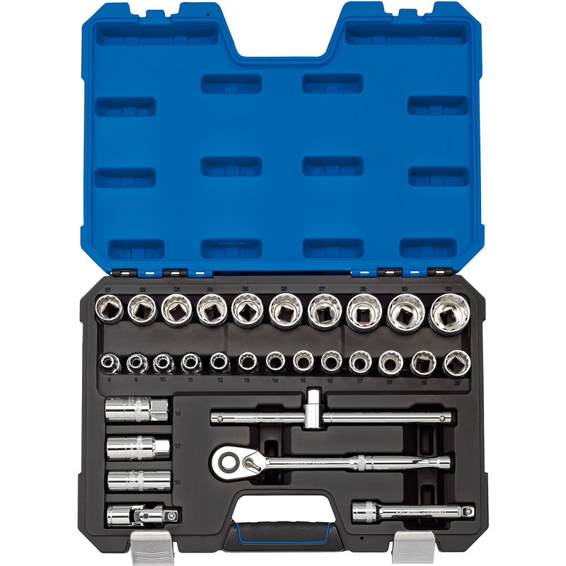 "Draper Expert 1/2"" Square Drive Metric Socket Set"