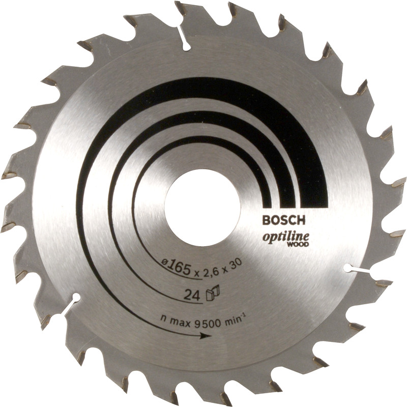 Bosch TCT Optiline Circular Saw Blade