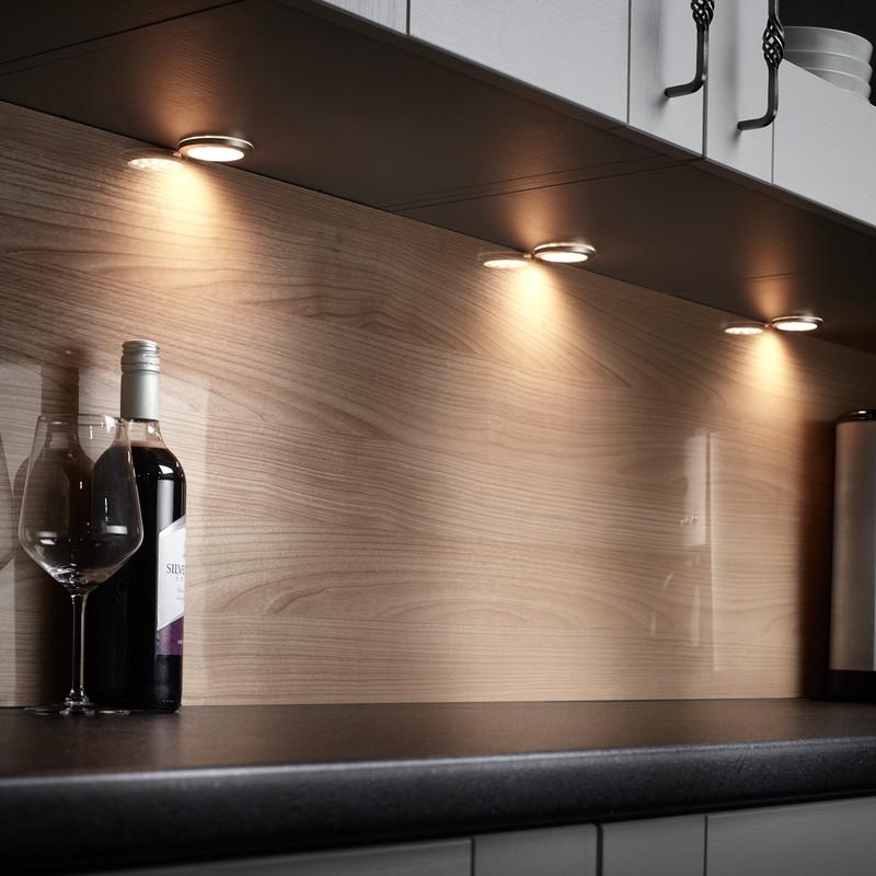 Sensio Pinto LED Round Under Cabinet Light Kit 24V
