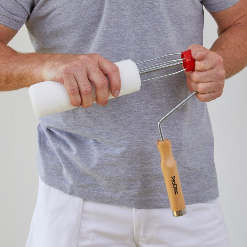 Prodec Wooden Handled Roller Frame