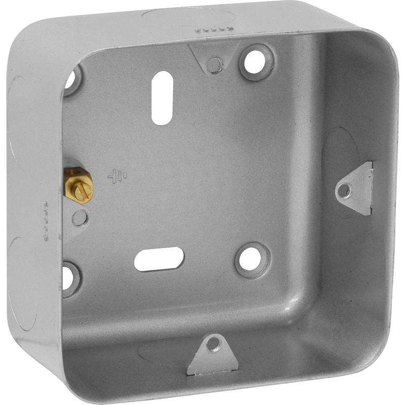 Grid Metal Back Box
