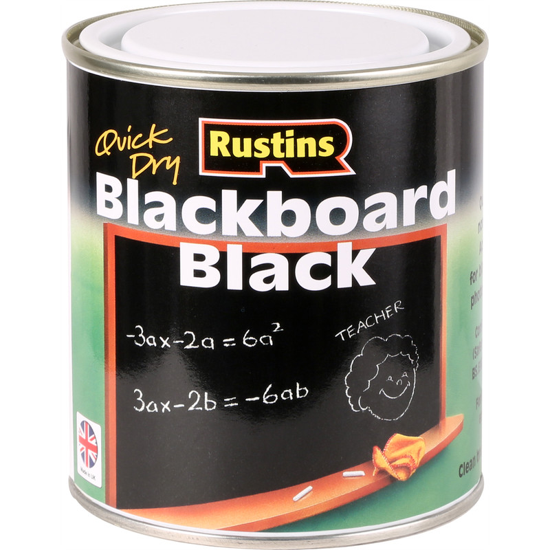 Rustins Quick Dry Matt Blackboard Paint