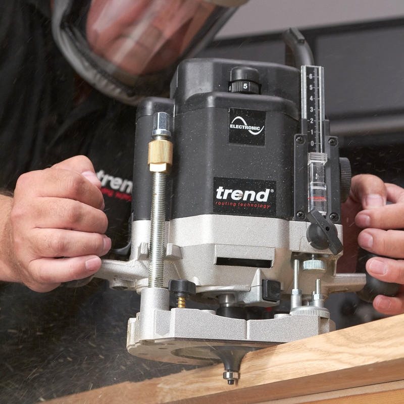 "Trend T11 1/2"" Variable Speed Router"