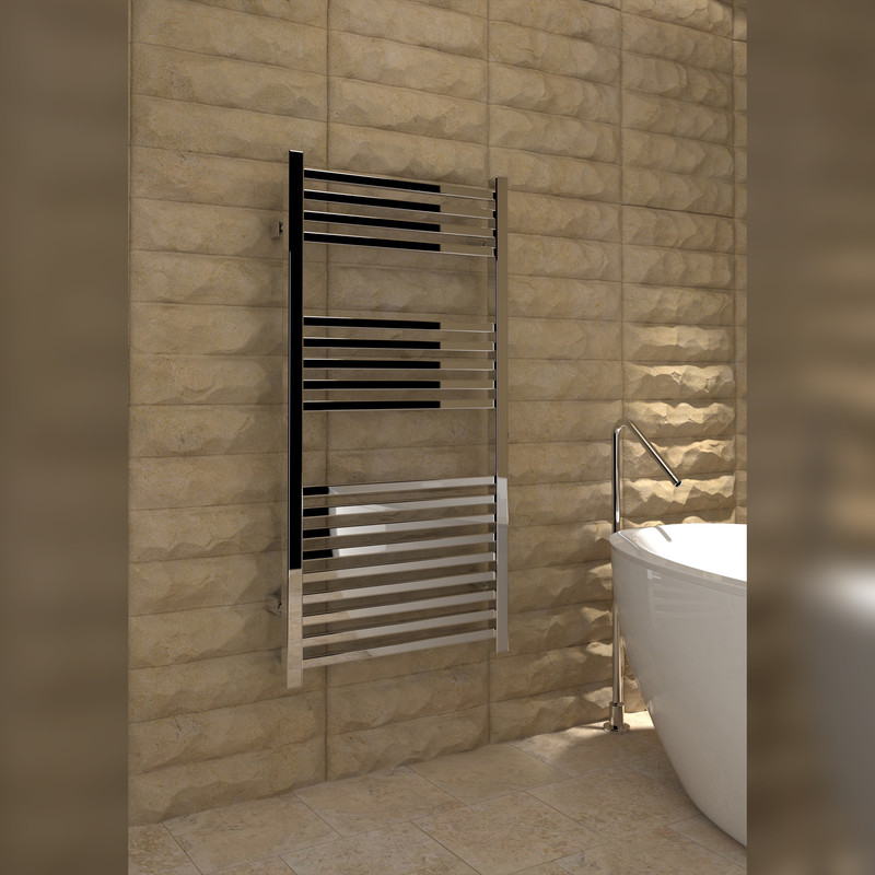 Kudox Cadiz Chrome Designer Towel Radiator