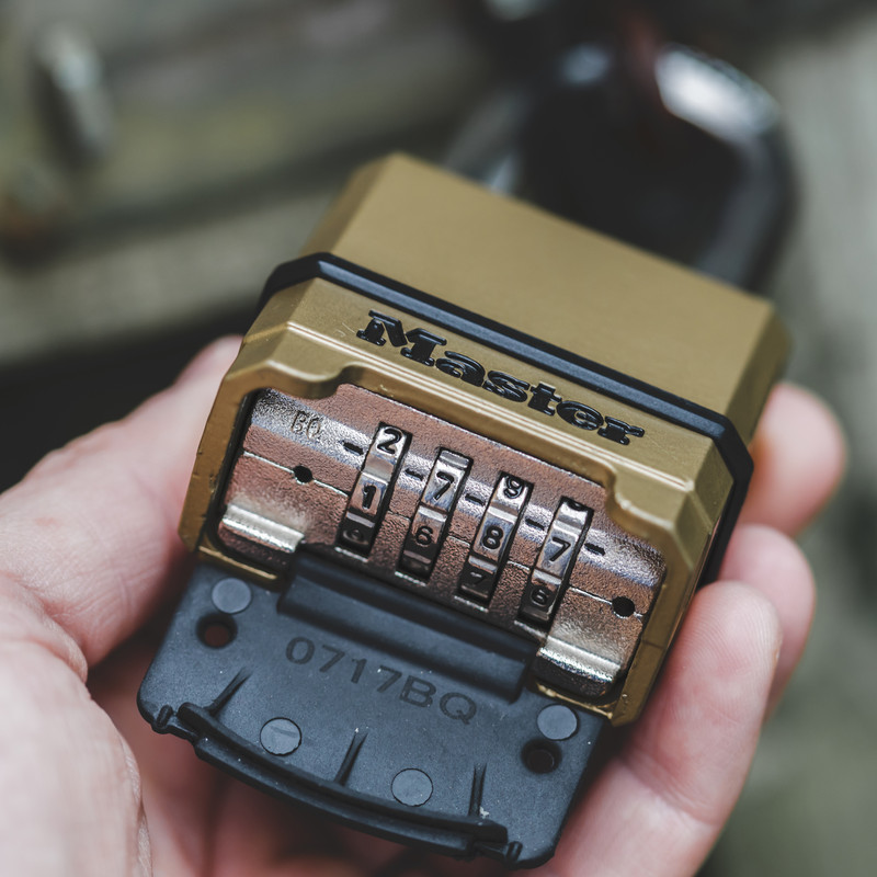 Master Lock Excell Combination Padlock