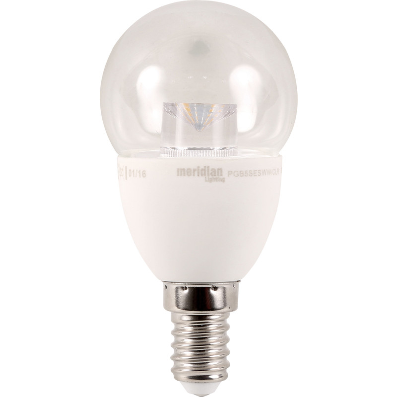 LED 5W Clear Globe Lamp