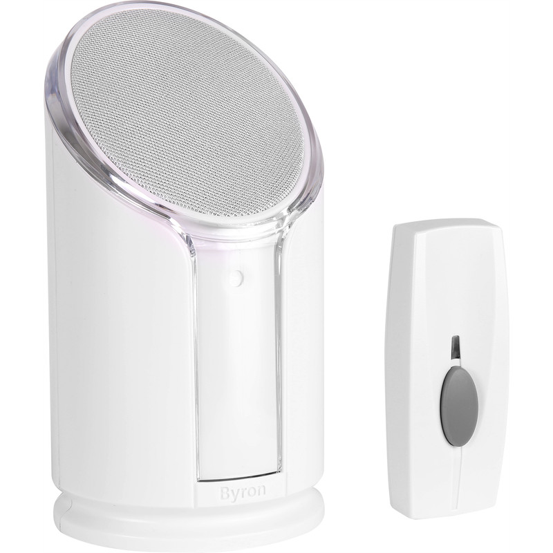Byron Sentry Extra Loud Wireless Portable Door Chime Kit