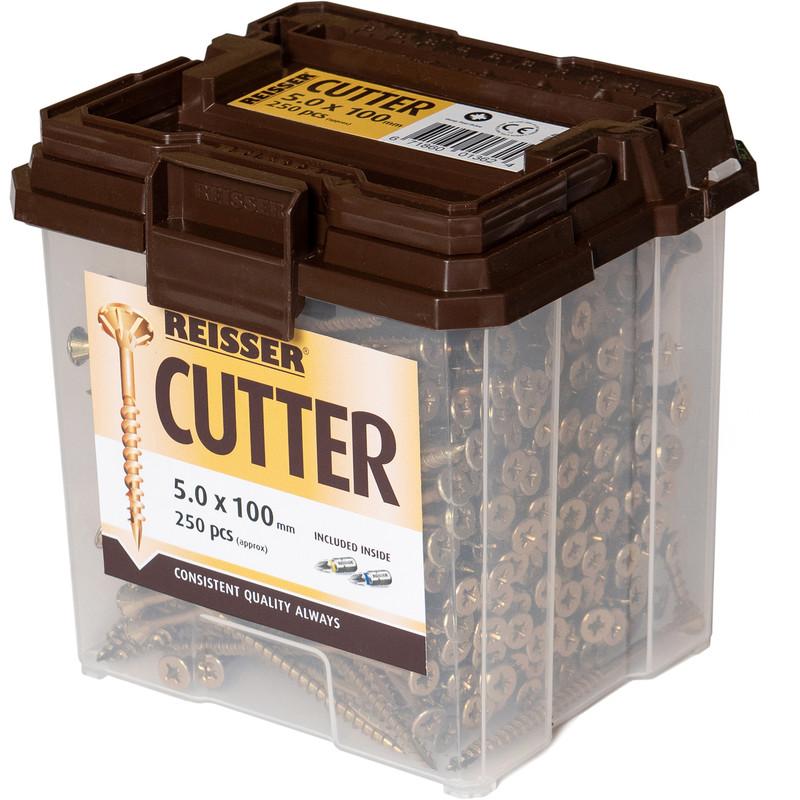 6 x 100mm Reisser CUTTER Vite 100 Pack NUOVO