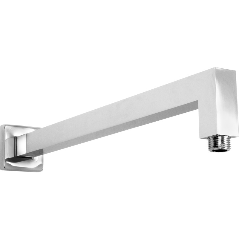 Square Profile Wall Shower Arm