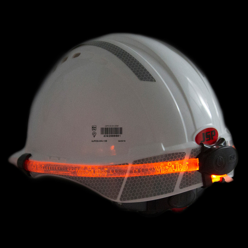 JSP VisiLite Multi Safety Helmet Light