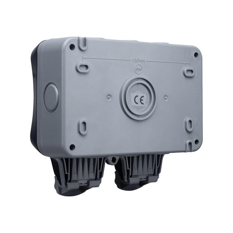 BG IP66 13A RCD Switched Socket