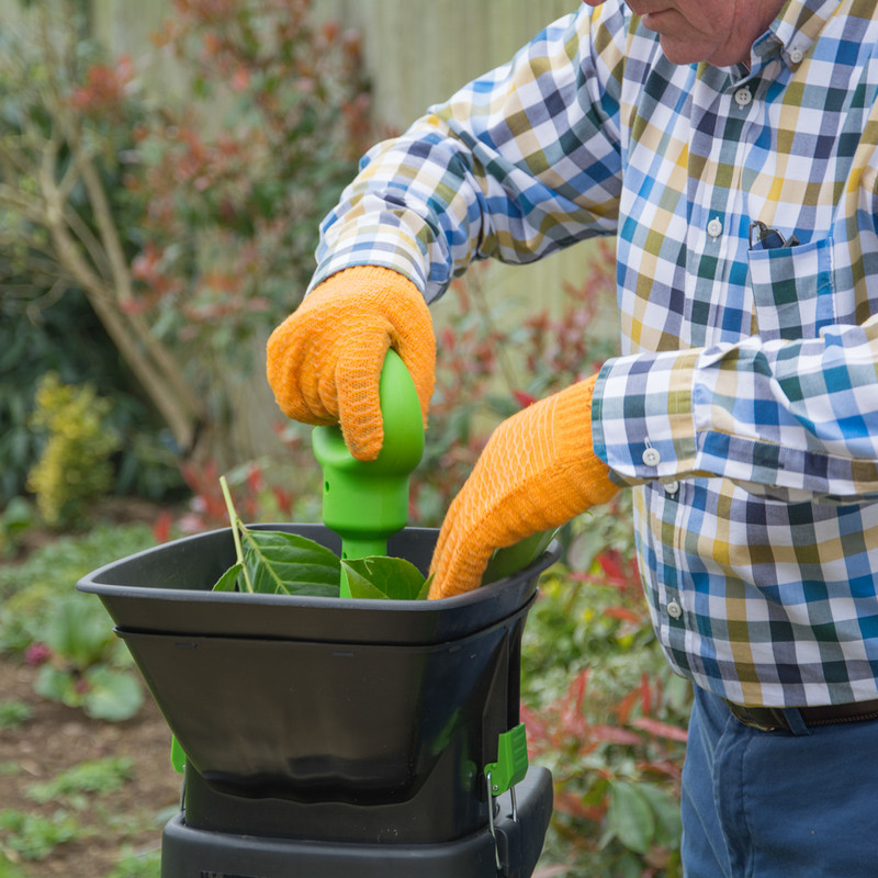 The Handy Electric Impact Shredder with Box & Detachable Hopper