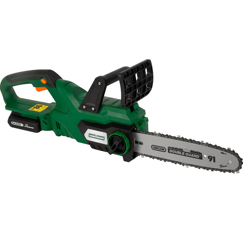 Hawksmoor 18V 25cm Cordless Chainsaw