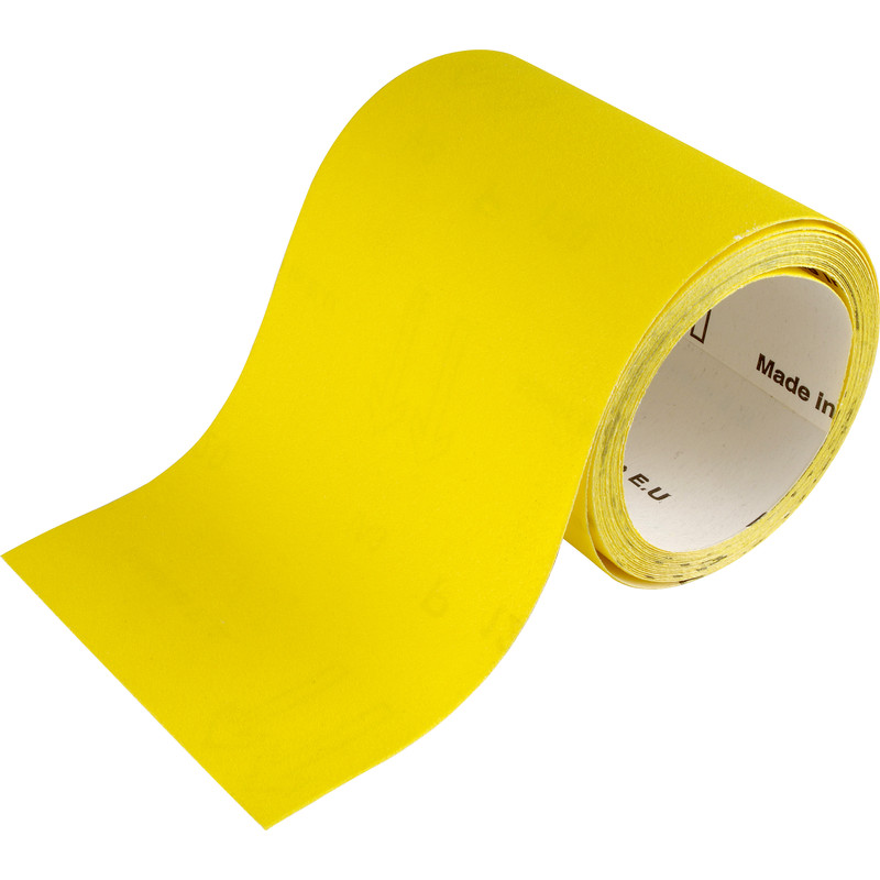 Flexovit Yellow Sanding Roll 115mm x 10m