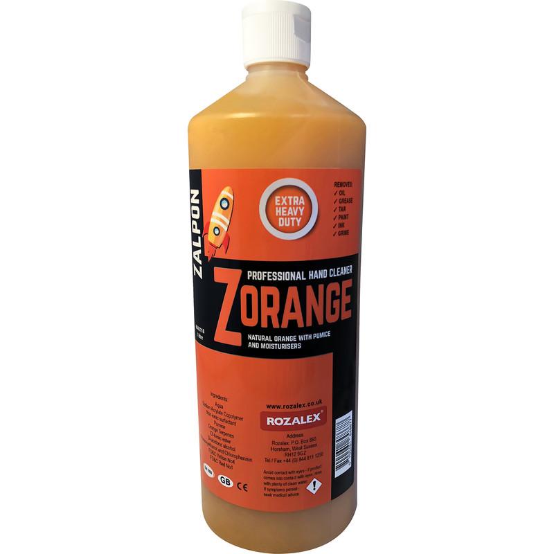 Rozalex Zalpon Zorange Extra Heavy Duty Hand Cleaner