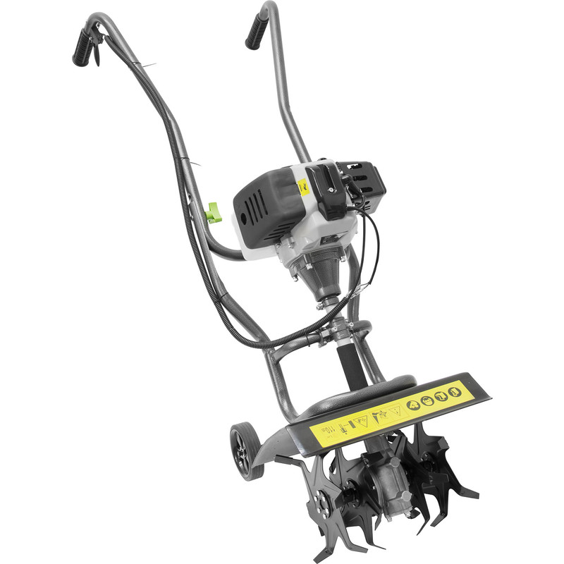 The Handy 25cm 2 Stroke Petrol Mini Tiller