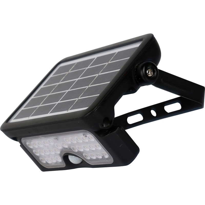 Luceco 5W Solar Guardian PIR Floodlight IP65