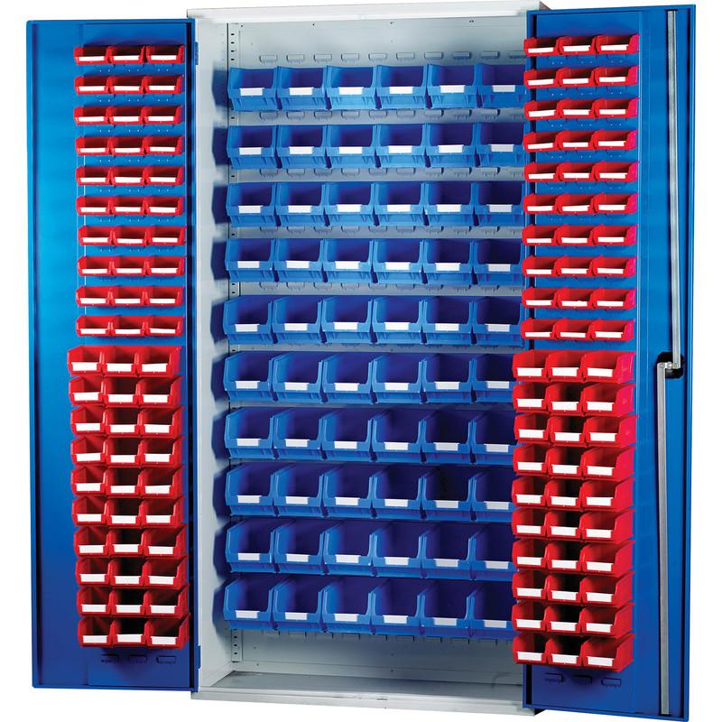 Barton Louvred Panel Cabinet 2000 x 1015 x 430mm