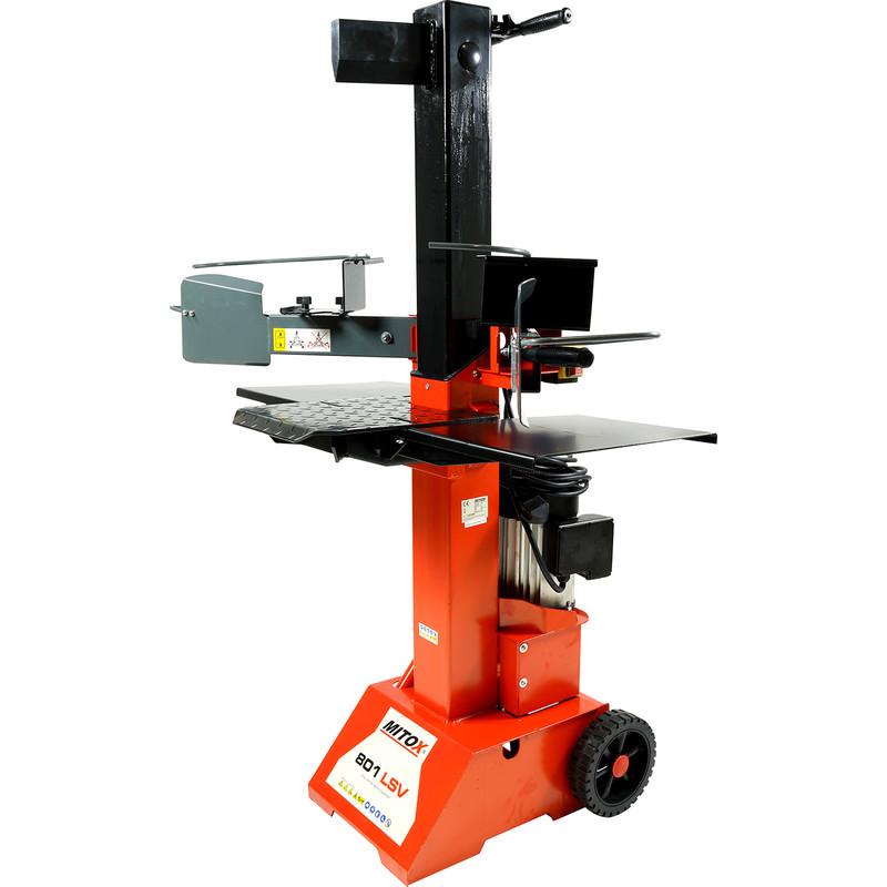 Mitox 801 LSV 8 Tonne Electric Log Splitter