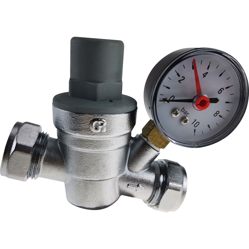 Made4Trade Pressure Reducing Valve and Gauge