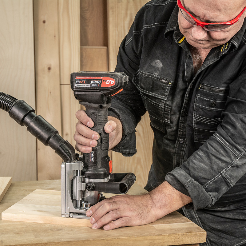 Trend T18S/BJK 18V Cordless Biscuit Jointer