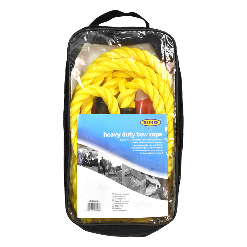 Ring Heavy Duty Tow Rope
