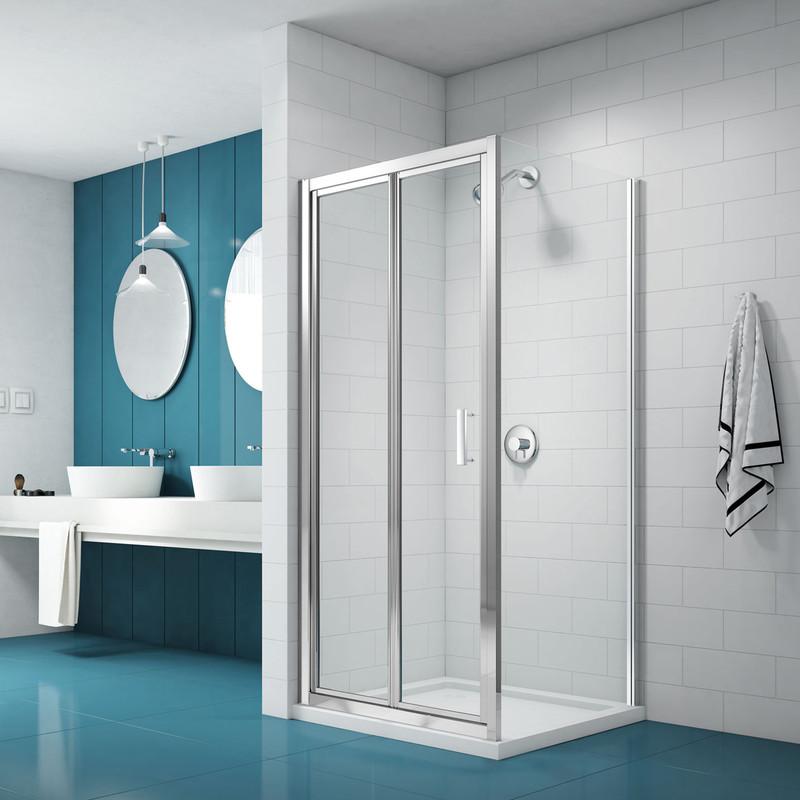 Merlyn NIX Bi-Fold Shower Enclosure Door and Side Panel