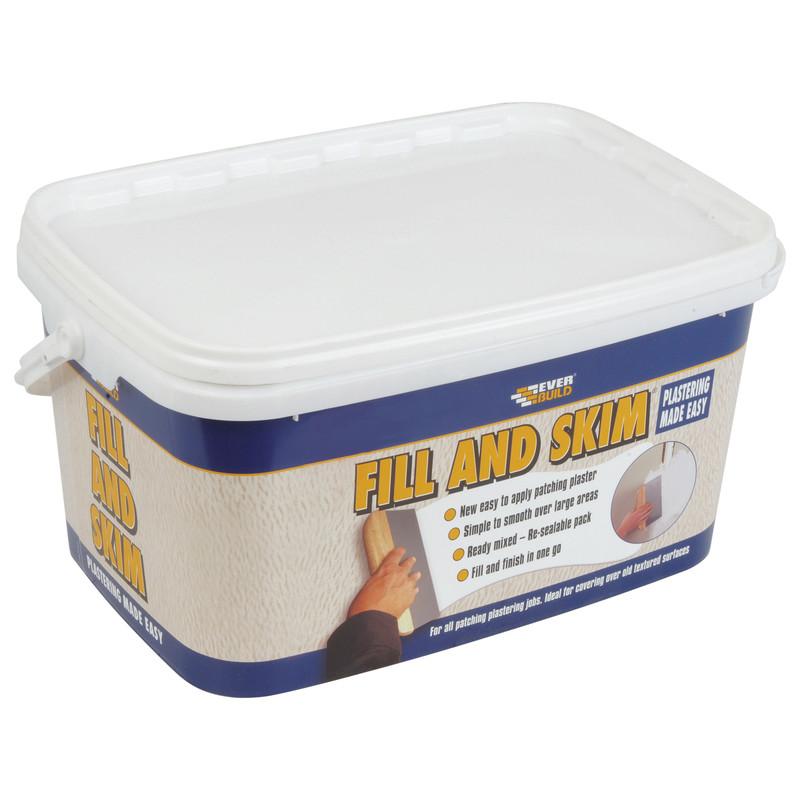 Fill & Skim Ready Mixed Lightweight Plaster