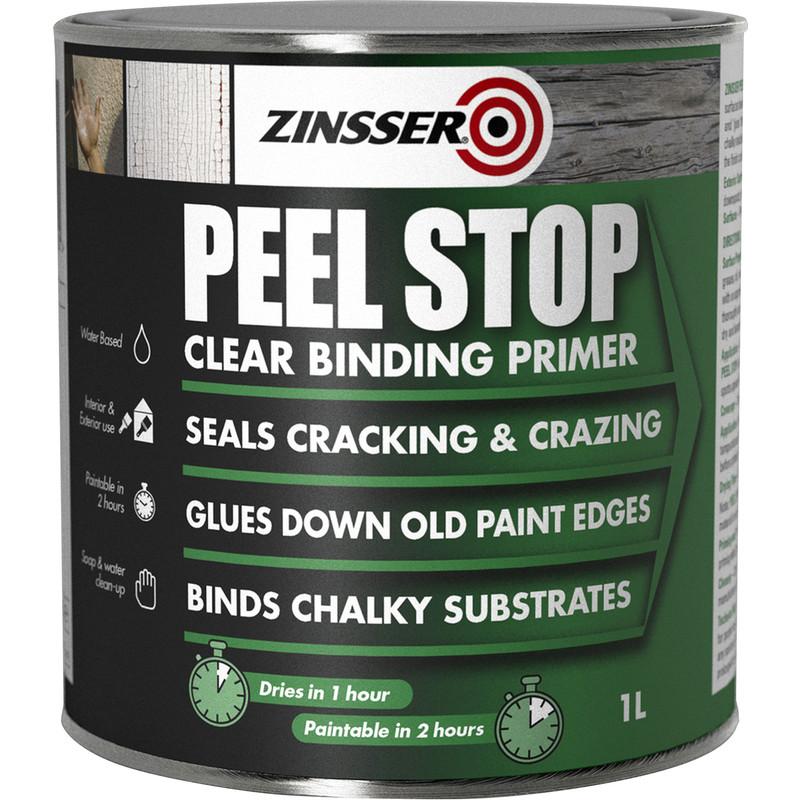 Zinsser Peel Stop Primer Paint