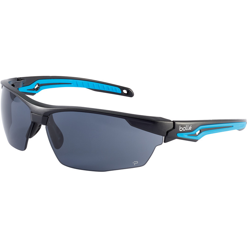 Bolle Tryon safety specs with K&N smoke lens TRYOPSF