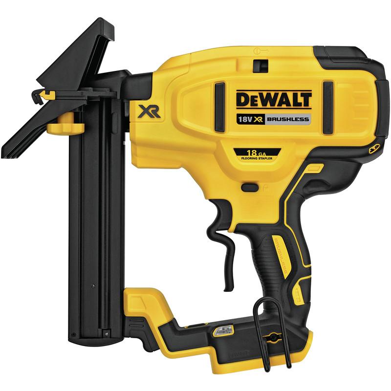 DeWalt DCN682N-XJ 18V XR Brushless 18Ga Flooring Stapler