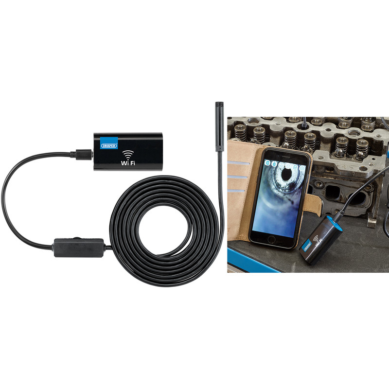 Draper Wi-Fi Endoscope