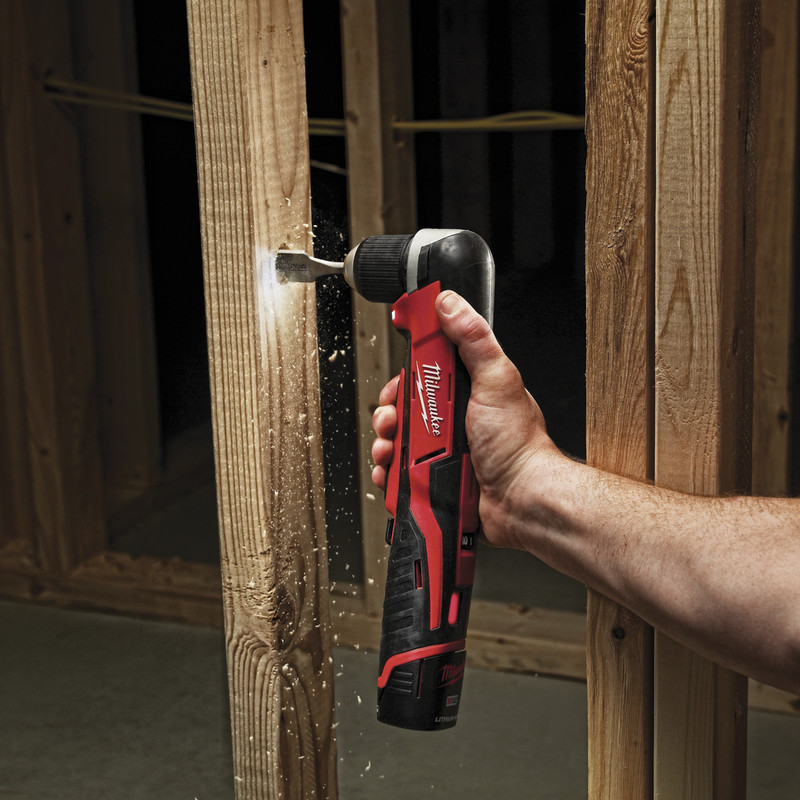 Milwaukee C12RAD-0 12V Li-Ion Cordless Compact Right Angle Drill