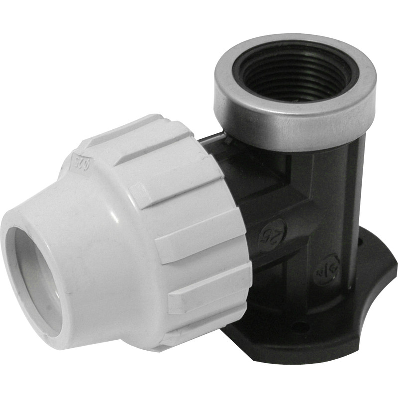 MDPE Wall Plate Elbow