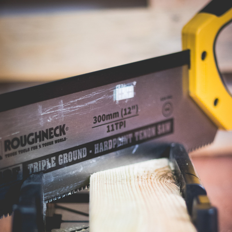 Roughneck Mitre Box and Tenon Saw