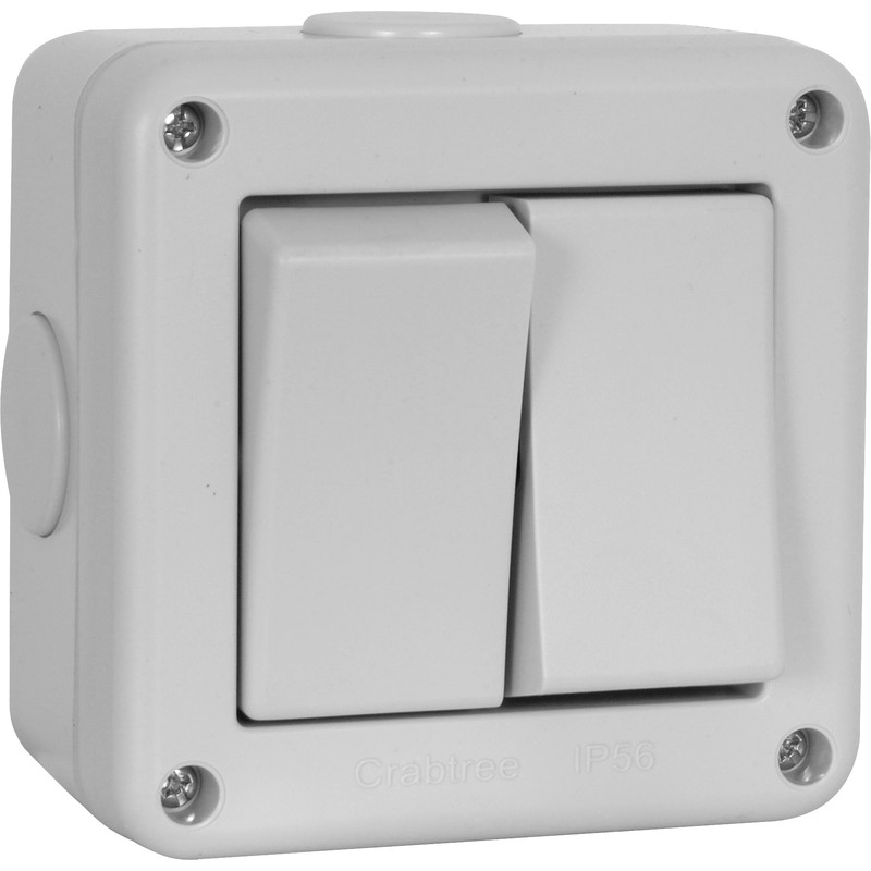 Crabtree IP56 20A Switch
