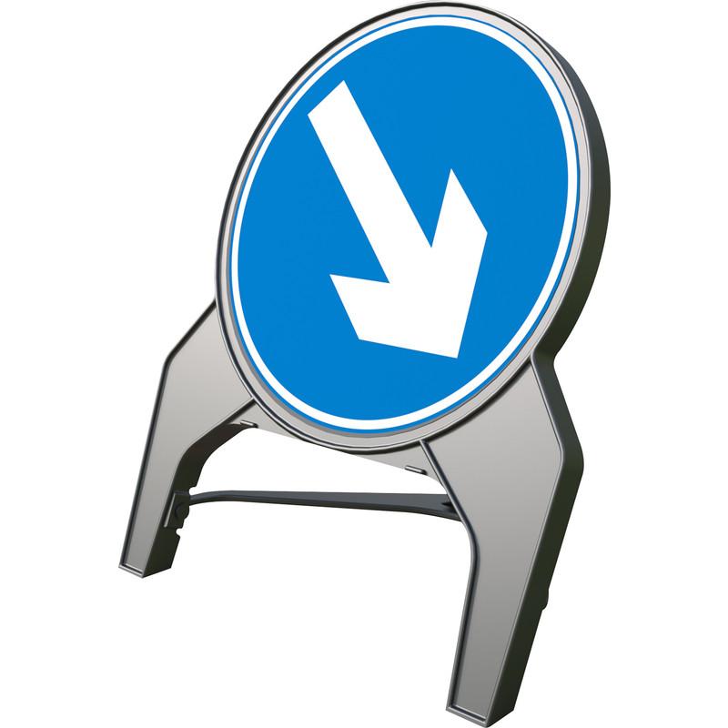 """Melba Swintex Q Sign """"Arrow Right"""" Traffic Sign"""