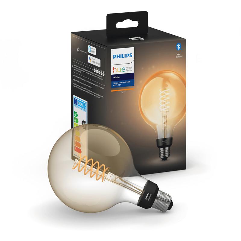 Philips Hue White Filament Bluetooth G125