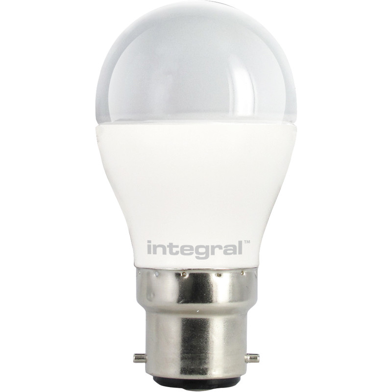 Integral LED Ball Frosted Dimmable Lamp