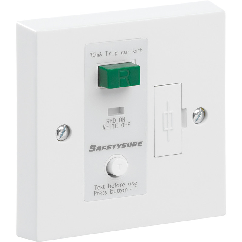SafetySure RCD Spur White