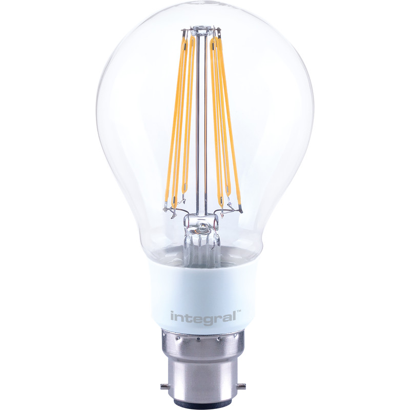 Integral LED Filament Dimmable GLS A67 Plastic Lamp
