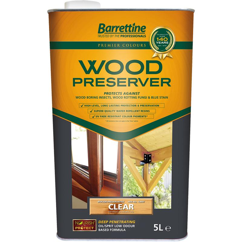 Barrettine Wood Preserver 5L
