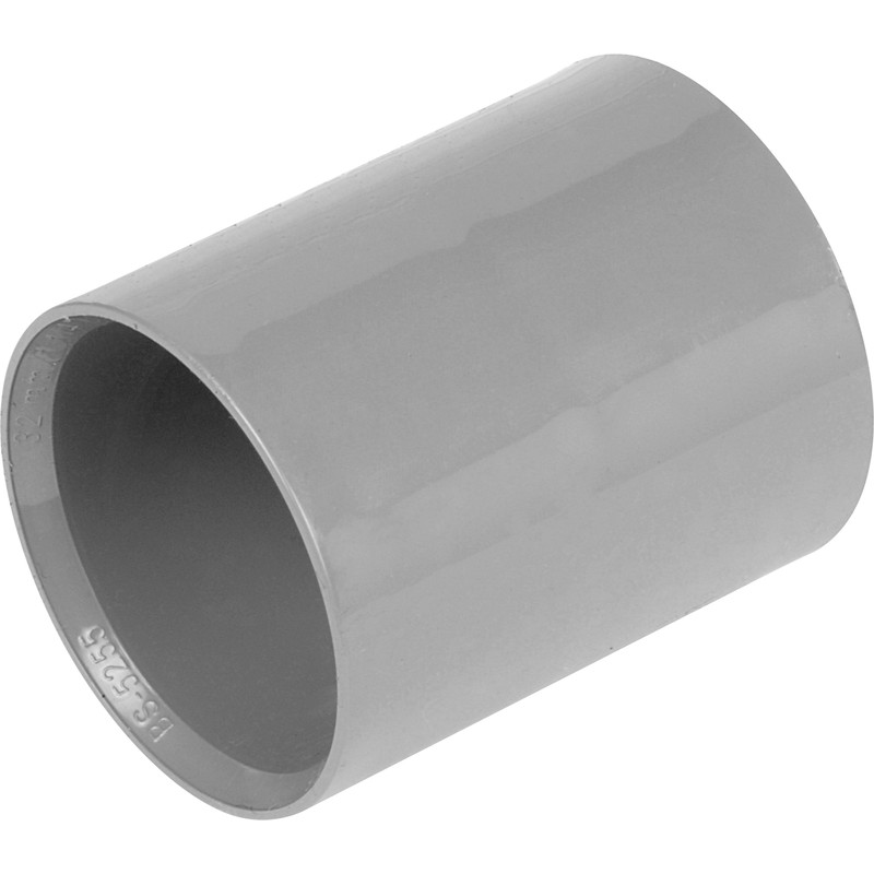 Solvent Weld Straight Coupling