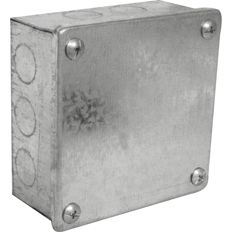 Metal Box with Knock Outs